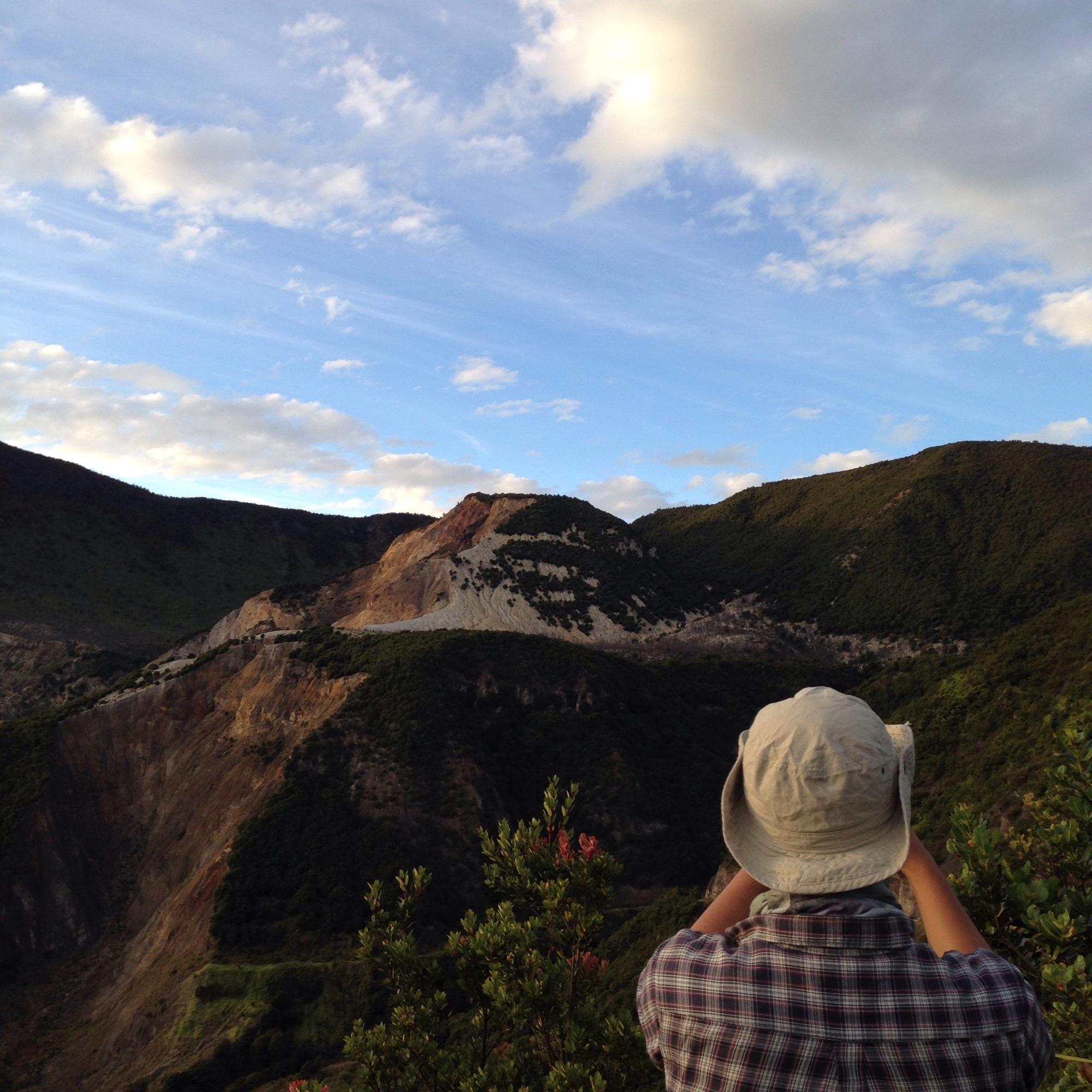 Panorama Papandayan